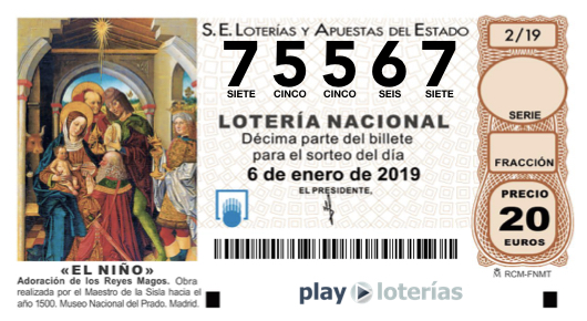 4be6cd5b7 Lotería de la Madrina